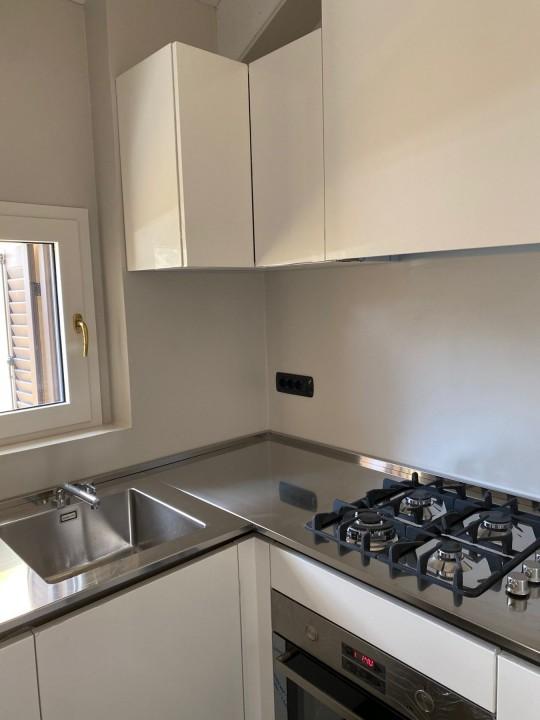 004(4) C181 Cucina inox e laccato bianco lucido Steellart