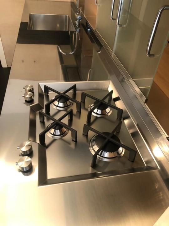 005 C176 Top in acciaio inox Steellart