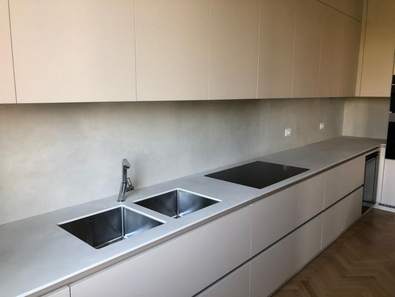 008(2) C179 Cucina in Fenix e Laminam Steellart