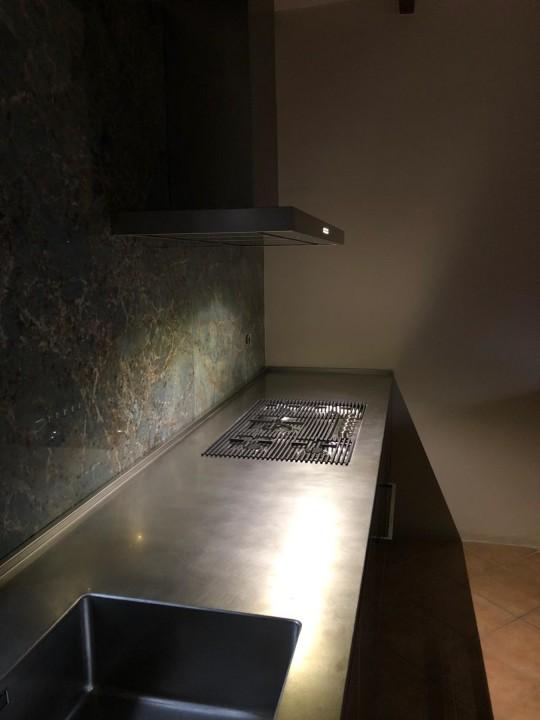 009(1) C178 Cucina in acciao inox finitura vintage Steellart