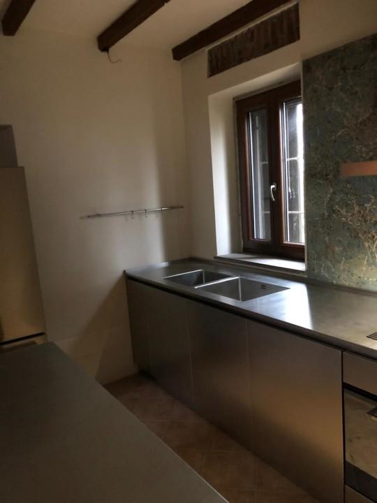 012(1) C178 Cucina in acciao inox finitura vintage Steellart