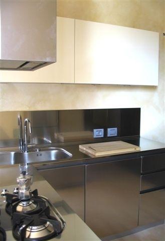C17 cucina ad angolo lavaggio /cottura ,inox - Küchen ...