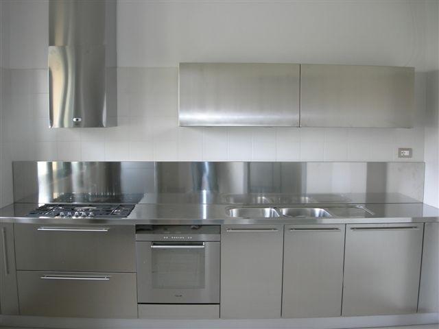 1238063185 C019 Cucina inox L 345 cm Steellart