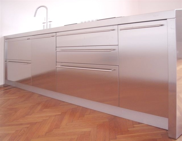 1243585841 C08 Stainless steel kitchen centre width 310 cm Steellart