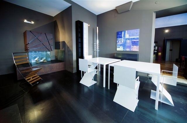 Lamiera Arredamento : A tavoli in lamiera verniciata arredi steellart piacenza