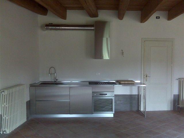 1300697481 C34 Cucina lineare L 326 cm Steellart