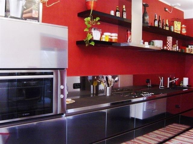 Cucina in acciao inox L450cm
