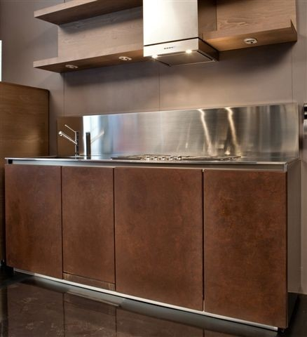1354377384 C48 Cucina Brown-Steel Steellart
