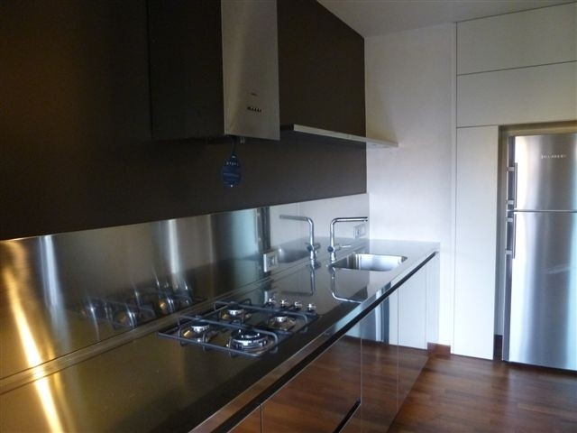 1364405003 C51 Wall stainless steel kitchen centre width 325 Steellart