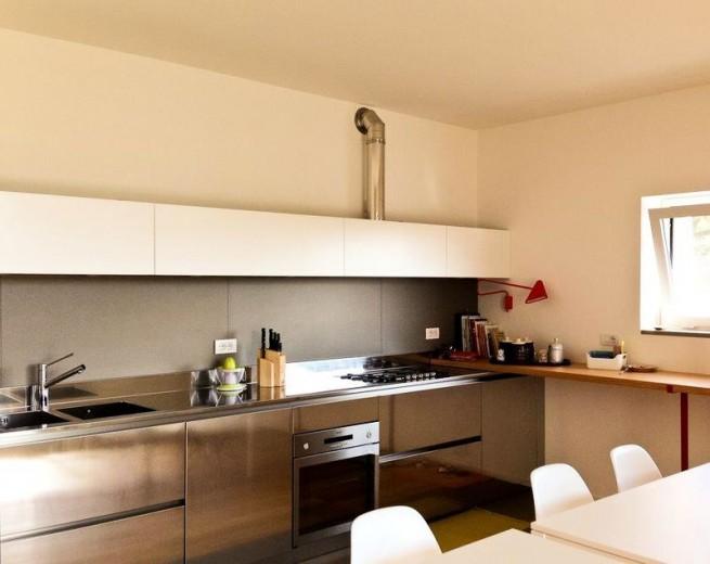 1377505385 C55 Wall kitchen centre width 4.5 m Steellart