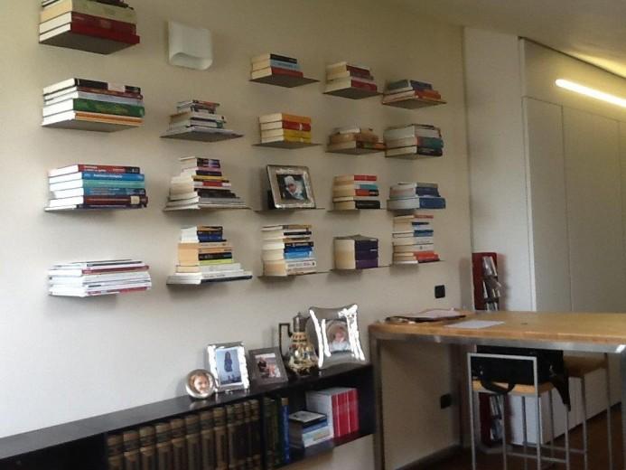 Ale sop2 18giu A13  libreria in  ferro su  soppalco Steellart