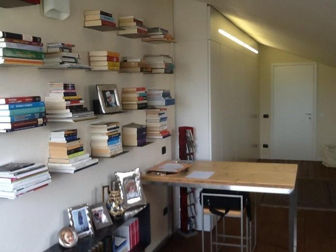 Ale sop3 18 giu(1) A13  libreria in  ferro su  soppalco Steellart