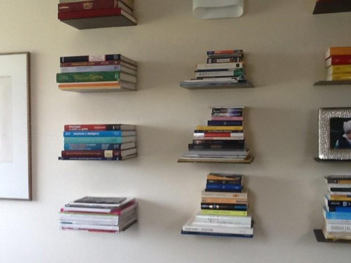 Ale sop7 18 giu. A13  libreria in  ferro su  soppalco Steellart