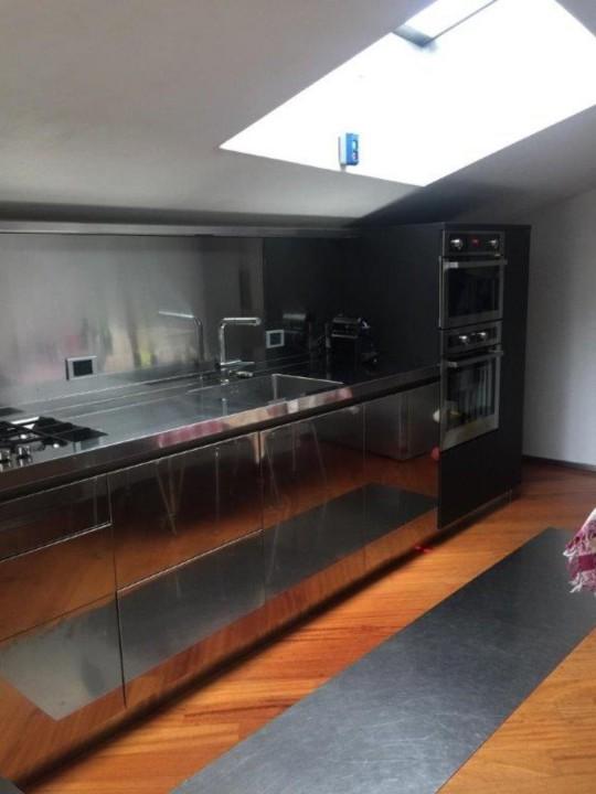 Anita 2rid 22 12 2018 C150 cucina acciaio inox e fenix Steellart