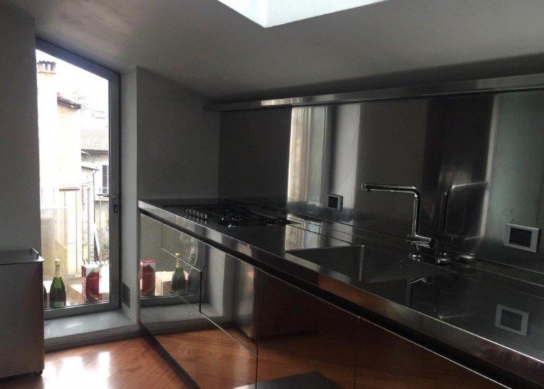 Anita 4rid 22 12 2018 C150 cucina acciaio inox e fenix Steellart