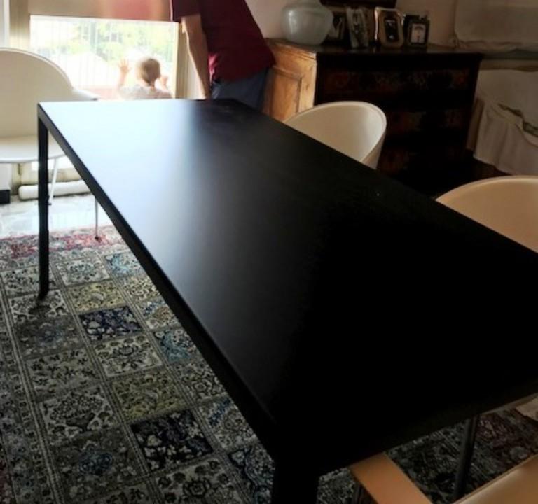 Bersani tavolo 2 lamiera verniciata 29 ottobre 2017 IT77 Tavolo su misura in acciaio verniciato a polveri Steellart