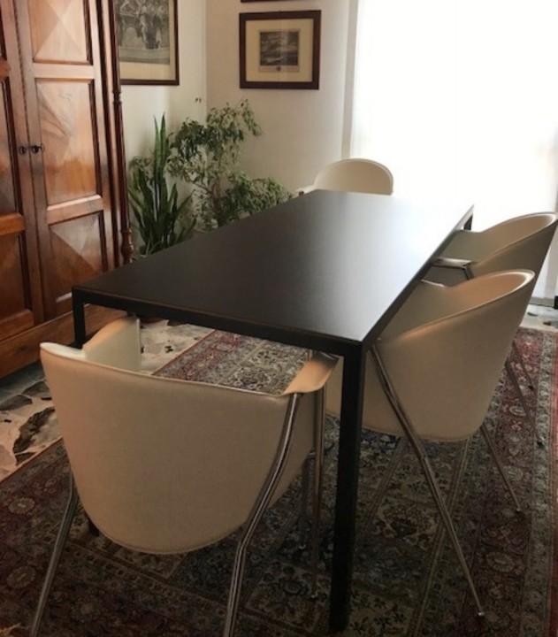 Bersani tavolo arredato modificato 20 giugno 2019 IT77 Tavolo su misura in acciaio verniciato a polveri Steellart