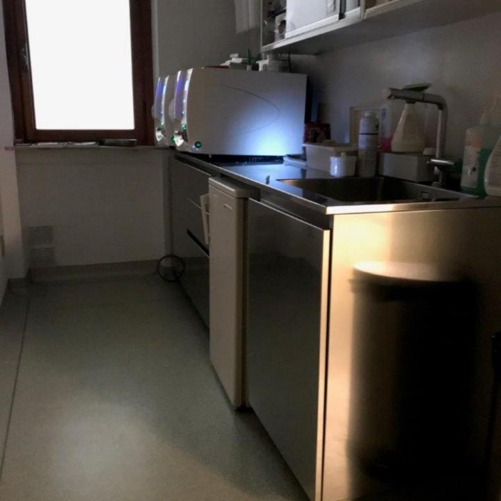 Blocco sterilizzazione long rid. C168 camera di sterilizzazione per studio dentistico Steellart