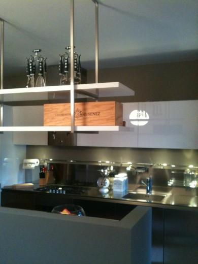 Cucina in acciaio inx