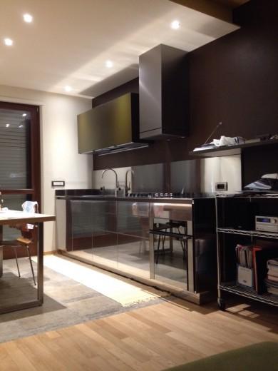 C85 cucina su due pareti - Küchen - Steellart