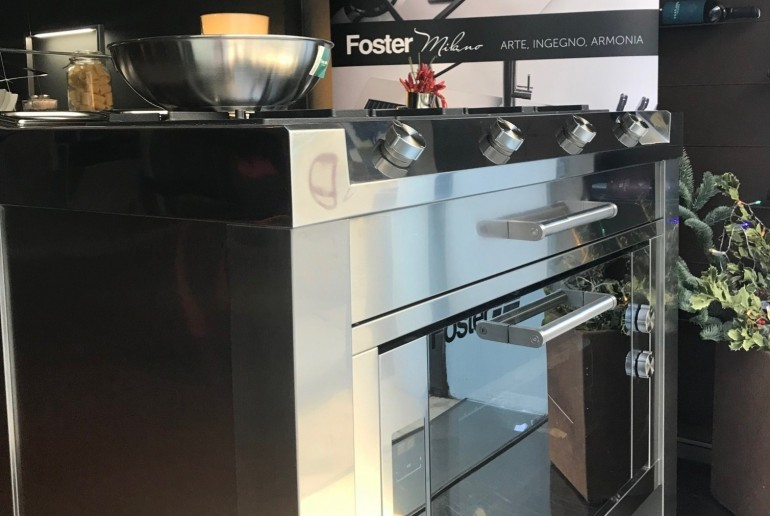 Cooking station Foster Milano da 120cm 1rid 3x2 Cooking station Foster Milano Steellart