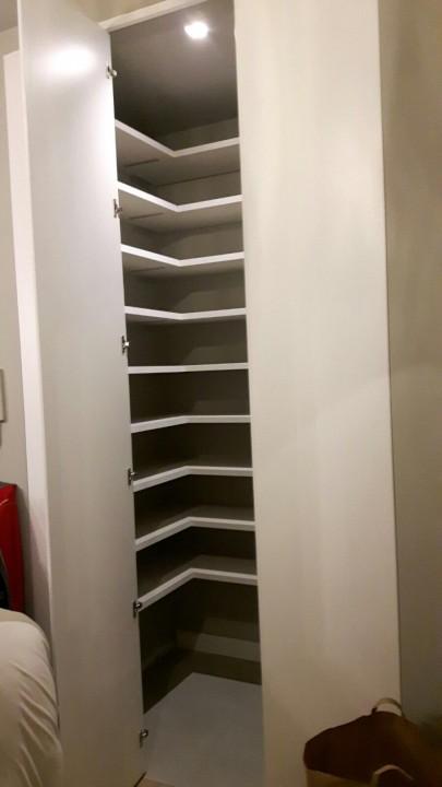 Corsetti interno scarpiera 3 22 nov.(1) A 20 armadi a muro realizzati su misura ante a battente Steellart