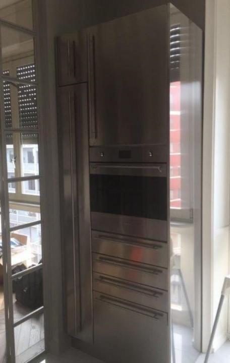 Corsetti ridbis.6(1) C138 ristrutturazione cucina in acciaio inox Steellart
