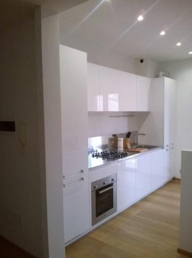 C91 Cucina a parete con isola funzionale - Cucine in acciaio, cucine ...