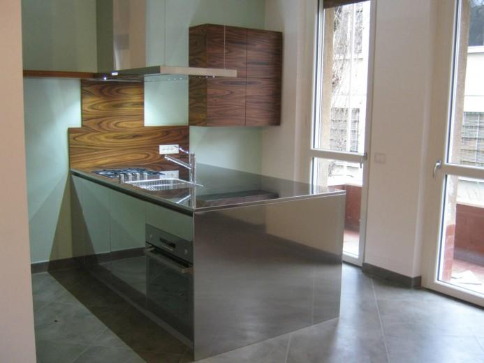 Cucina inox di design