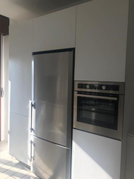 Draghi s3 rid C 146 Blocco cucina in acciaio inox e pensili white Steellart