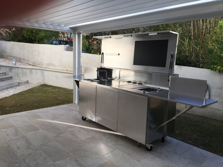 Finalmente   Golfo Aranci 01 C67 Outdoor  Kitchen (  stainless  steel) Steellart