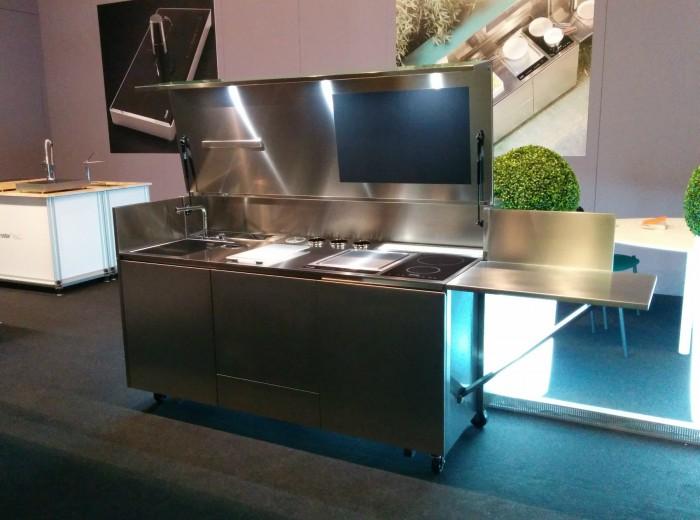Finalmente Fiera di verona 8 ottobre 2015 mod. C67 Outdoor  Kitchen (  stainless  steel) Steellart