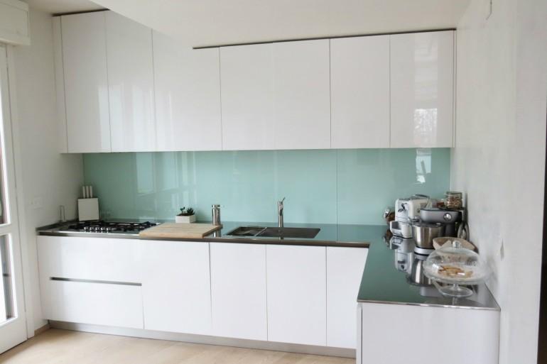 IMG 3793 C36 Cucina ad  angolo a parete L 341 cm Steellart