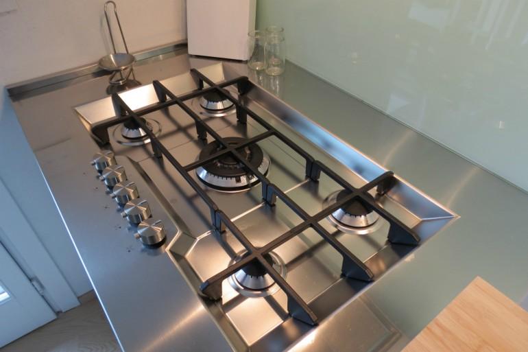 IMG 3805 C36 Cucina ad  angolo a parete L 341 cm Steellart