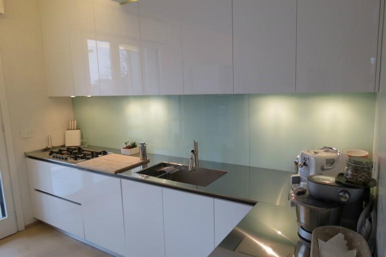 IMG 3817 C36 Cucina ad  angolo a parete L 341 cm Steellart