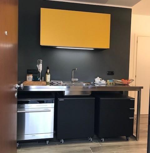 C129 cucina a moduli indipendenti cucine steellart for Moduli cucina