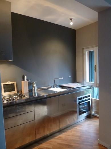 Mazzoni arredata 2014 3 C58 cucina in acciaio  inox  L 350 cm Steellart