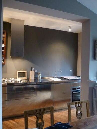 Mazzoni arredata 2014 4 C58 cucina in acciaio  inox  L 350 cm Steellart