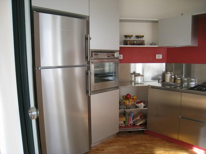 Colonne cucina in alluminio