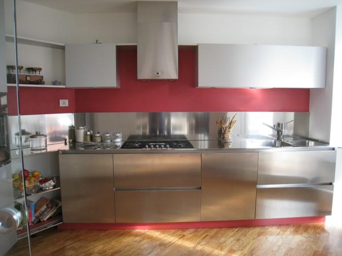 C011 Cucina inox-alluminio - Cucine - Steellart - Piacenza
