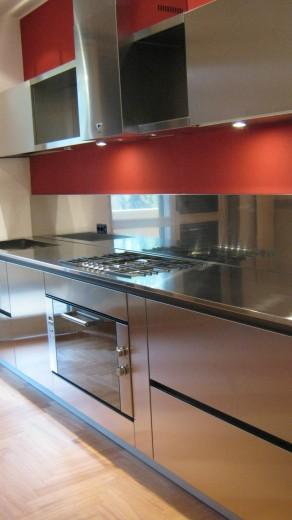 Poggi 14 C71 Linear kitchen centre width 345 Steellart