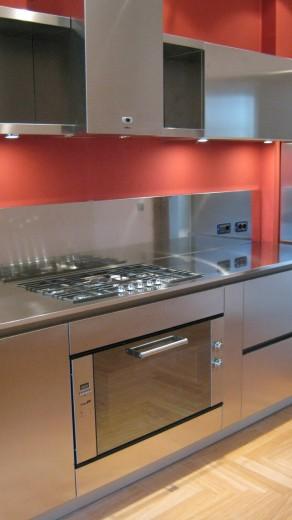 Poggi cucina 20 ottobre 09 008 C71 Linear kitchen centre width 345 Steellart