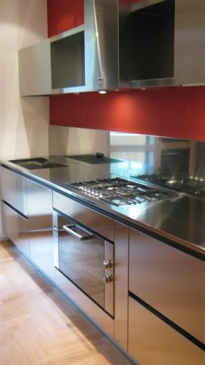 Poggi cucina 20 ottobre 09 012 C71 Linear kitchen centre width 345 Steellart