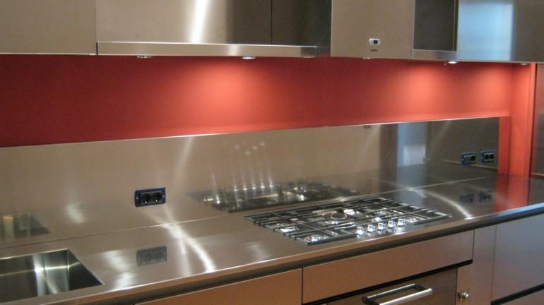 Poggi cucina 20 ottobre 09 017 C71 Linear kitchen centre width 345 Steellart