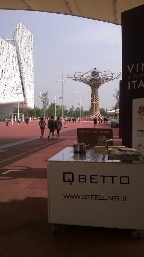 Qbetto Expo 18 albero della vita Der QBETTO in EXPO 2015 (Deutsch Version) Steellart