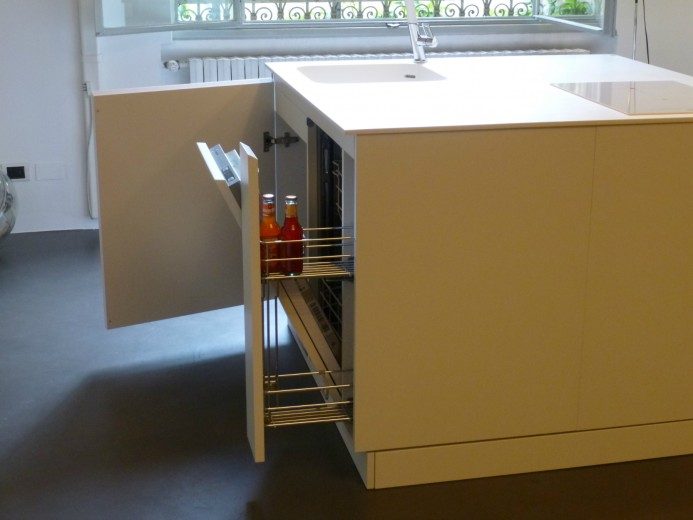 Qbetto bianco 5(1) C66 smallkitchen Q.betto 120x120cm Steellart