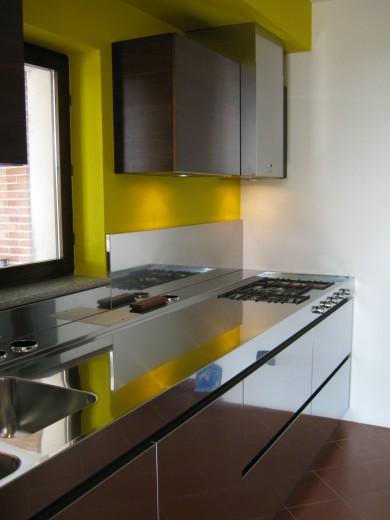 RUGGERI 2 C69 Stainless steel kitchen centre width 334 cm Steellart