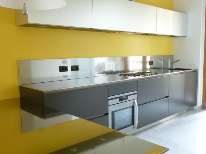 Roncagalle16 C016 Cucina a parete L 360 Steellart
