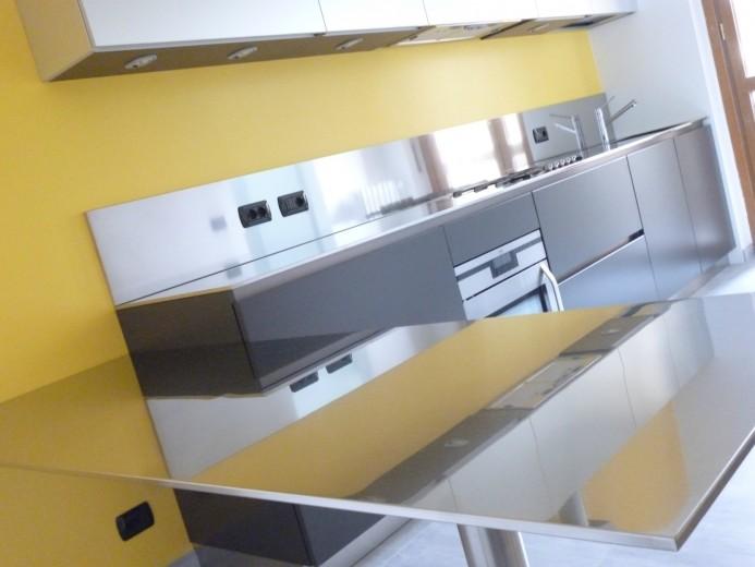 Roncagalle2 C016 Cucina a parete L 360 Steellart