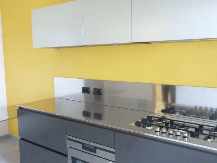 Roncagalle5 C016 Cucina a parete L 360 Steellart